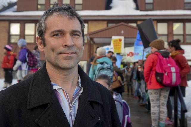 Sébastien Houle, conseiller municipal et père de deux... (François Gervais)