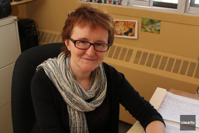Louise Leblanc est professeure d'histoire et de science... (Archives, La Voix de l'Est)