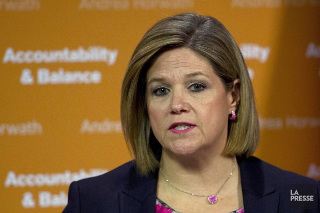 La chef du NPD ontarien, Andrea Horwath.... (Nathan Denette, Archives PC)
