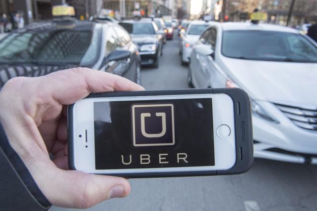 Le directeur juridique d'Uber Canada a affirmé que son entreprise n'est pas... (Archives La Presse Canadienne, Ryan Remiorz)