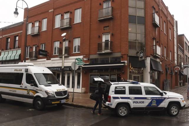 La Sûreté du Québec a réalisé une saisie impressionnante jeudi. L'opération... (François Gervais)