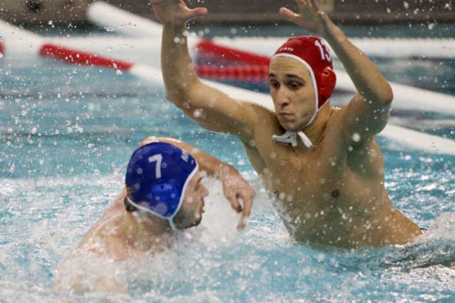Dusan Aleksic aura le sort de l'équipe nationale... (Water-Polo Canada)