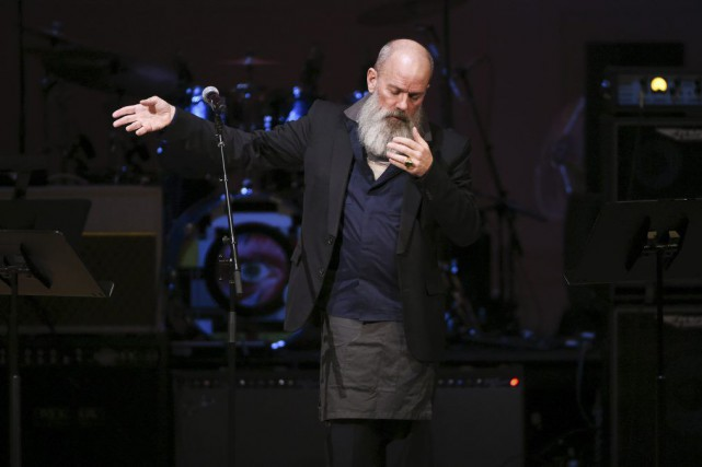 Michael Stipe, chanteur et âme de R.E.M n'a... (PHOTO EVAN AGOSTINI, AP)