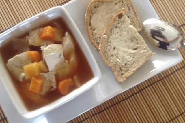 Voici une soupe-repas économique, facile et rapide, qui parfumera la maison et...