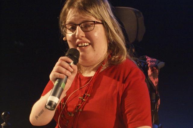 En 2012, Sara s'est rendue à Calgary pour... (Photo courtoisie)
