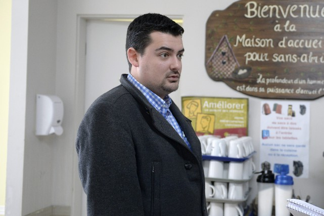 Le directeur général de la Maison d'accueil pour... (Photo Le Progrès-dimanche, Jeannot Lévesque)