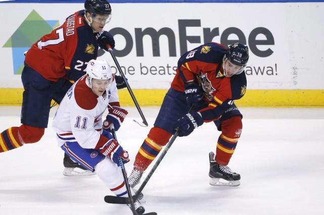 Le Canadien de Montréal semblait en voie de signer une troisième victoire de... (Photo AP)
