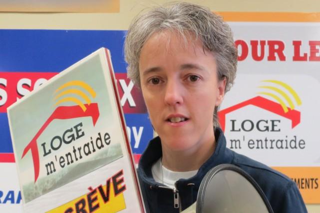 La coordonnatrice de Loge m'entraide, Sonia Côté... (Archives Le Quotidien)