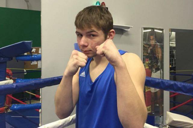 Esteban Tremblay, du Club de boxe olympique de... (Photo courtoisie)