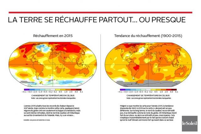 CHRONIQUE / «Pouvez-vous m'expliquer pourquoi, depuis quelques années, les... (Infographie Le Soleil)