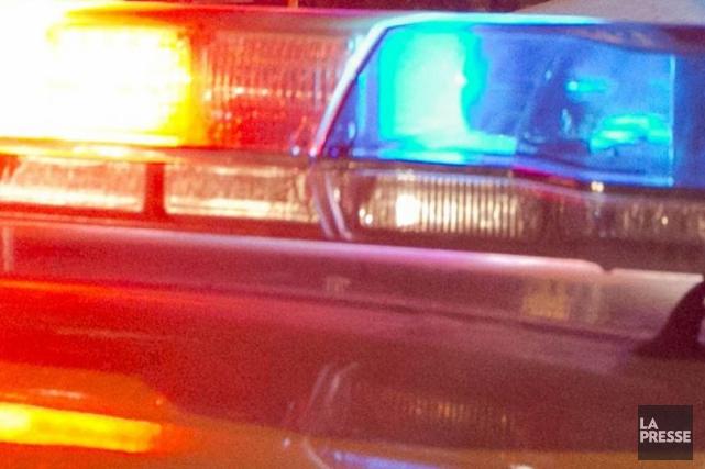 Un automobiliste et sa passagère ont été blessés dans un accident de la... (PHOTO ARCHIVES, LA PRESSE)