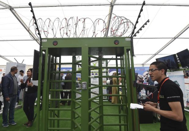 Le lucratif marché de la sécurité et de... (AFP, Fethi Belaid)