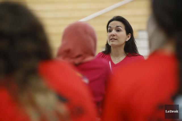Pour Karina Potvin, le sport entraîne une bonne... (Simon Séguin-Bertrand, LeDroit)