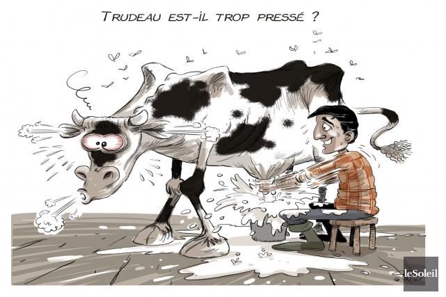 La caricature du jour (en reprise)... (André-Philippe Côté, Le Soleil)