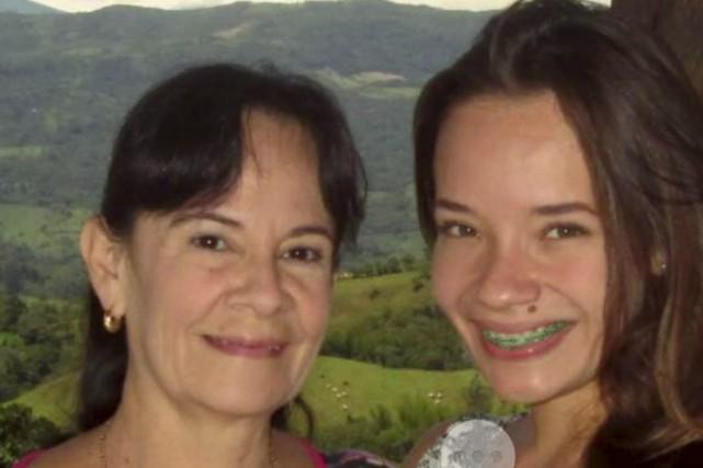Natalia et sa mère, Alba Aracelly Amaya Gomez... (Photo fournie)