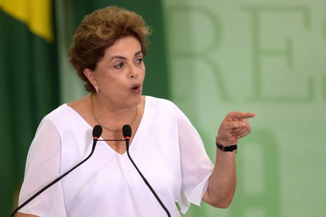 On reproche à Dilma Rousseff d'avoir maquillé les... (Archives AFP)