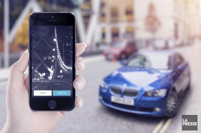 Irrité par une offensive d'Uber qui incite les chauffeurs de taxi à payer leurs... (123RF)