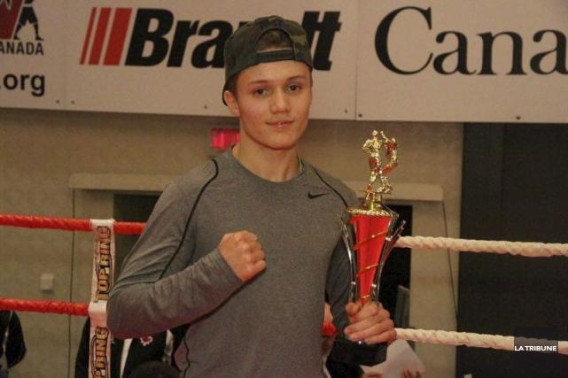 Thomas Chabot a remporté un troisième titre canadien... (Archives, La Tribune)