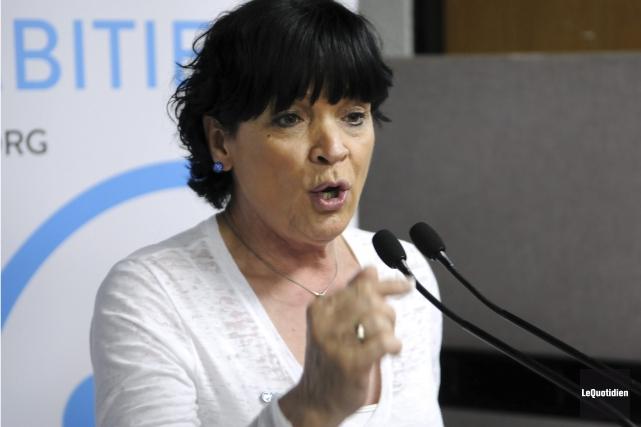 Hélène Girard croit que la CAQ a de... (Archives Le Quotidien)