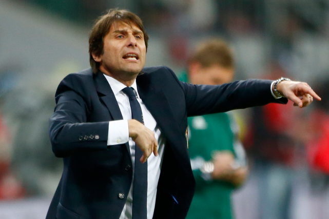 Antonio Conte... (Photo Michaela Rehle, Reuters)