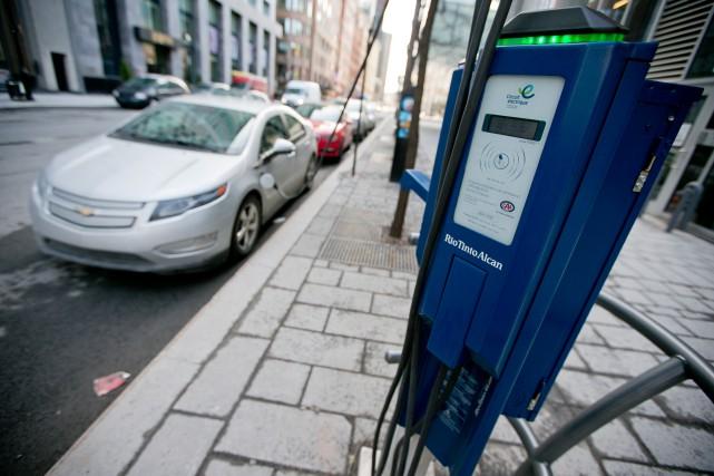 Mobilité électrique Canada recommande, entre autres, l'augmentation du... (PHOTO DAVID BOILY, LA PRESSE)