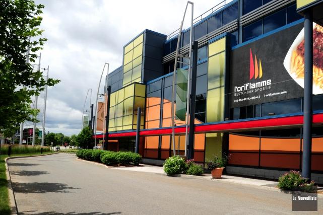 Le restaurant l'Oriflamme ferme ses portes.... (Photo: Andréanne Lemire Le Nouvelliste)