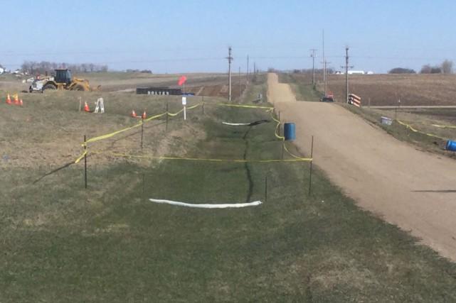 L'entreprise affirme qu'un «incident potentiel» au Dakota du... (PHOTO FOURNIE PAR TRANSCANADA)