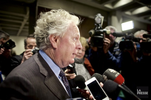 En marge d'une allocution à l'Université McGill, l'ex-premier... (La Presse, André Pichette)