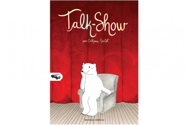 Deuxième titre de l'illustratrice Catherine Ocelot,Talk-Showmet en...