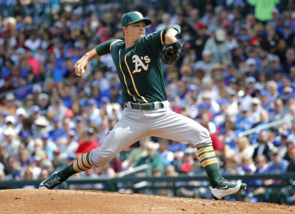 Sonny Gray... (PHOTO ARCHIVES AP)
