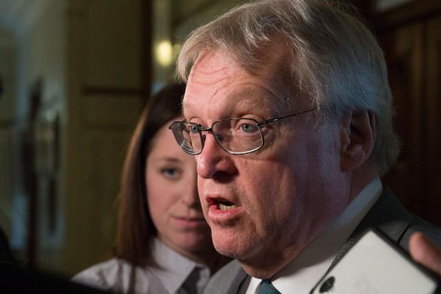 Le ministre de la Santé du Québec, Gaétan... (PhotoJacques Boissinot, La Presse Canadienne)