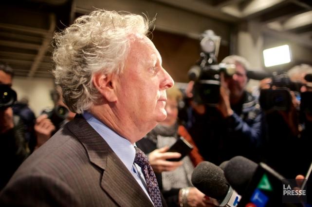 Selon Jean Charest, une constitution pour le Québec... (PHOTO ANDRÉ PICHETTE, LA PRESSE)