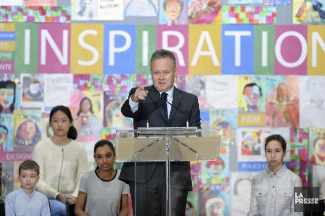 Le gouverneur de la Banque du Canada, Stephen... (Sean Kilpatrick, PC)