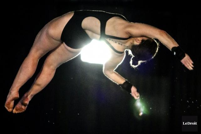 La plongeuse Roseline Filion a brillé l'an dernier... (Patrick Woodbury, Archives LeDroit)