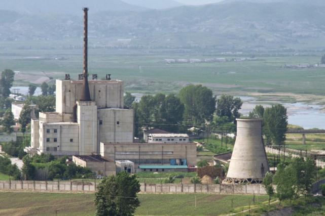 Le laboratoire de recherches nucléaires deYongbyon est situéà... (ARCHIVES REUTERS)
