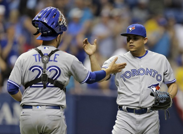Les Blue Jays de Toronto ont remporté une... (Associated Press)