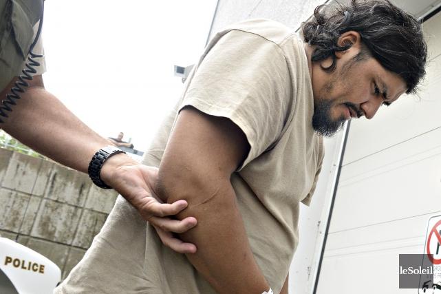 Pedro-Antonio Ovalle Leon est accusé d'avoir causé la... (Photothèque Le Soleil, Patrice Laroche)