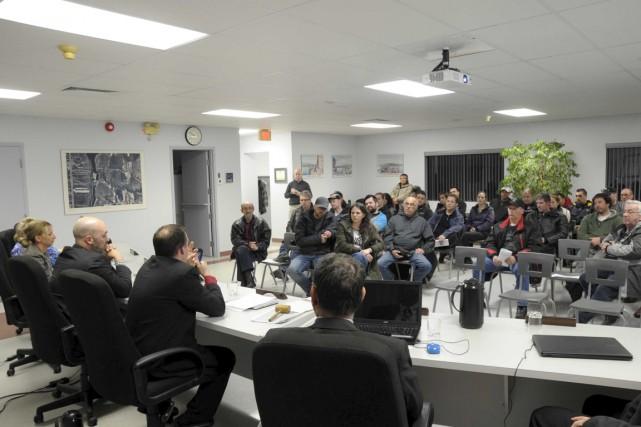 La séance régulière du conseil municipal de Notre-Dame-du-Mont-Carmel... (Sylvain Mayer)
