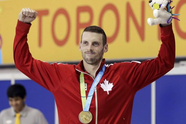 Ryan Cochrane a remporté le 1500 m style... (La Presse Canadienne, Mark Humphrey)
