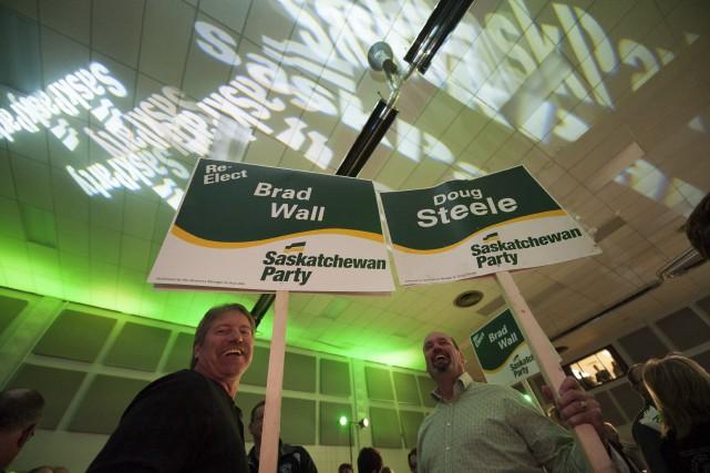 Comme le laissaient présager les sondages, le Parti... (La Presse Canadienne, Michael Bell)