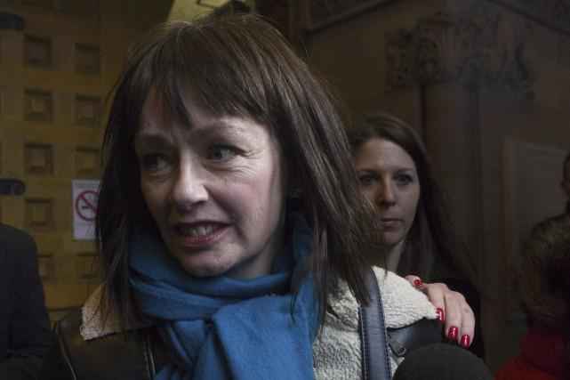 L'actrice Lucy DeCoutereavait témoigné contre l'ex-animateur de radio... (La Presse Canadienne, Chris Young)