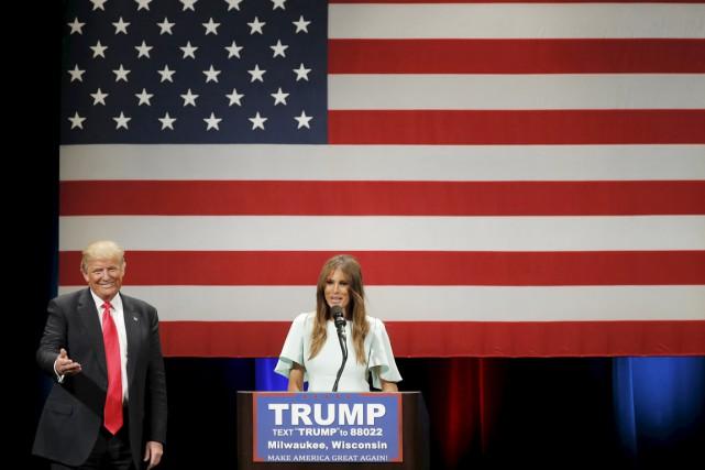 Lundi soir, alors que Donald Trump est particulièrement... (PHOTO JIM YOUNG, REUTERS)