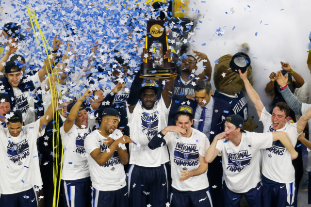 Il s'agit du deuxième titre national de basketball universitaire dans... (Photo Kevin Jairaj, USA Today)