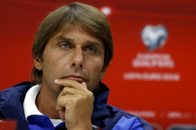 Antonio Conte... (Photo David Mdzinarishvili, archives Reuters)