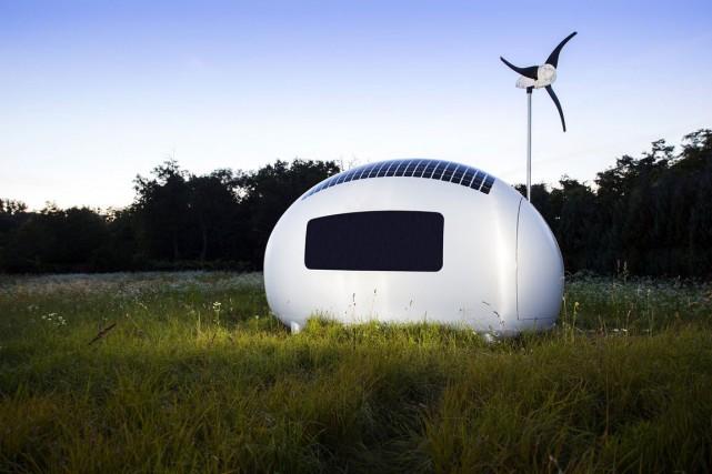 L'Ecocapsule est la création de trois architectes dans... (PHOTO FOURNIE PAR NICE ARCHITECTS)