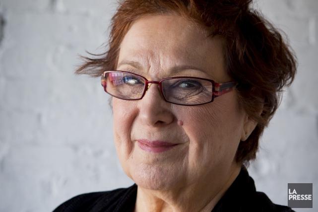 La prolifique comédienne québécoise Rita Lafontaine est décédée lundi soir dans... (Archives La Presse)
