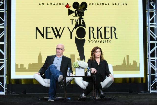 Les producteurs exécutifs Alex Gibney et Kahane Cooperman... (PHOTO ARCHIVES AP)