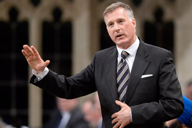 Maxime Bernier... (Photo Adrian Wyld, archives PC)