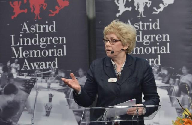 La présidente du jury Boel Westin a annonncé... (PHOTO AFP)