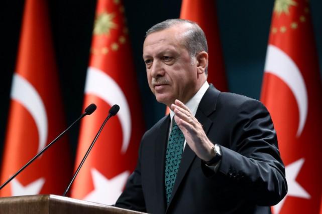 Depuis l'été, Recep Tayyip Erdogana ordonné de nombreuses... (PHOTO AFP)